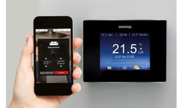 produkteinf hrung des neuen 4ie smart thermostat warmup blog. Black Bedroom Furniture Sets. Home Design Ideas