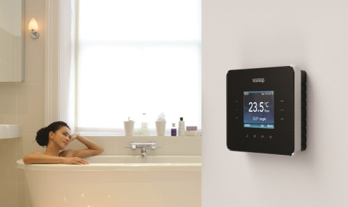Das 3ie Thermostat als Raumregler für die Fußbodenheizung