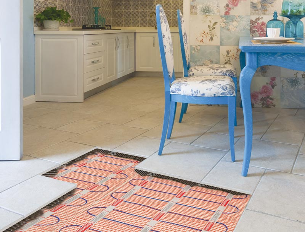 Elektrische Fußbodenheizung - Ein Ratgeber