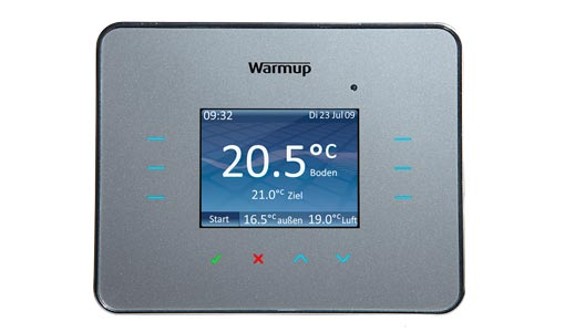 Warmup_3iE_Thermostat_Front_silber