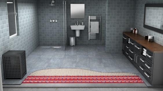 Fußboden Bad Erneuern ~ Eine elektrische fußbodenheizung in ihrem bad warmup